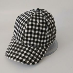 Accessories - LAST DAY Plaid Checked Baseball Cap Hat New